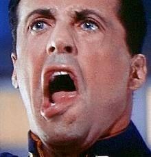 Sylvester Stallone in Judge Dredd