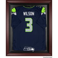 4f2635a73d6 Seattle Seahawks Fanatics Authentic Mahogany Framed Jersey Display Case   SeattleSeahawks