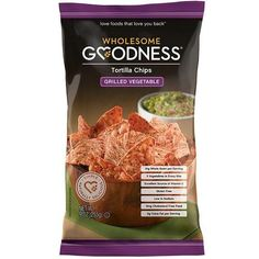Wholesome Goodness Tortilla Chips Grilled Vegetable (12x9oz)
