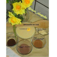 O que tem pra hoje é #brigadeiro de #cafe .  Uso café  achocolatado  chocolate em pó  leite condensado. Esse brigadeiro é uma delícia!! #brigadeiro #cafe #chocolate #receita #cozinha #kitchen #donadecasa #lar #lardocelar #fimdetarde #instamigas by casa_alugada http://ift.tt/1XCUi5a