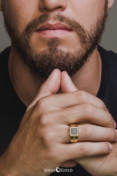 Mens Gold Jewelry, Mens Gold Rings, Black Gold Jewelry, Gold Rings Jewelry, Mens Diamond Bracelet, Mens Gemstone Rings, Hand Bracelet, Mens Ring Designs, Gold Ring Designs
