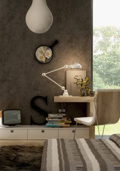 Office & Workspace, Modern Stylish Workspace Inspirations: Exquisite Lovely Study Room Ideas