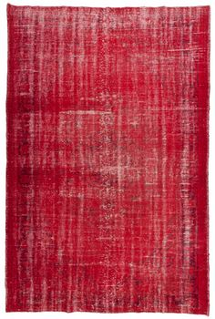 1792 Vintage Overdyed Rug