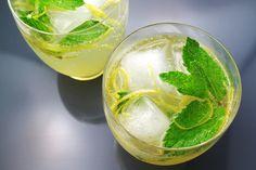 Lebanese Lemonade with Mint and Orange Blossom Water