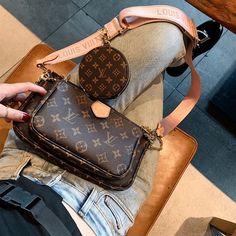 Louis Vuitton Monogram Canvas Mini Pochette Accessoires – The Fashion Mart Chanel Handbags, Fashion Handbags, Purses And Handbags, Fashion Bags, Leather Handbags, Cheap Handbags, Wholesale Handbags, Handbags Online, Burberry Handbags