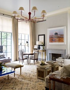 11 Chic Interiors by Designer S. R. Gambrel Inc. Photos   Architectural Digest