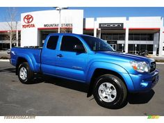 2008 Tacoma V6 TRD  Access Cab 4x4 - Speedway Blue - WANT THIS TRUCK SO BAD!!