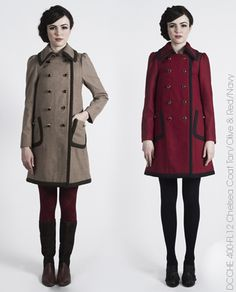 Dear Creatures Fall 2012 - schoolish - love this whole collection