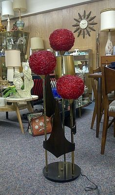 Mid Century Modern Lamps, Mid Century Lighting, Mid Century Decor, Mid Century Furniture, Modern Art Deco, Mid-century Modern, Retro Lighting, Modern Lighting, Pole Lamps