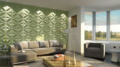 Token Pattern Design 3D Glue On Wall Panel
