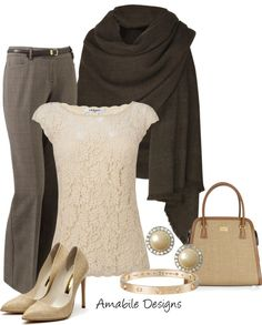 """""""Work wear from the closet"""" by amabiledesigns on Polyvore"""