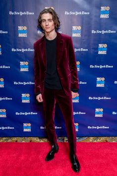 NEW YORK, NY - NOVEMBER 27: Timothee Chalamet attends the 2017 IFP Gotham Awards at Cipriani Wall Street on November 27, 2017 in New York City. (Photo by Roy Rochlin/FilmMagic) via @AOL_Lifestyle Read more: https://www.aol.com/article/entertainment/2017/11/28/2017-gotham-awards-red-carpet-arrivals/23290355/?a_dgi=aolshare_pinterest#fullscreen