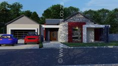 My Building Plans South Africa – Building Industry Marketplace My Building, Building Plans, Industrial Bedroom, Industrial House, Guest Bedroom Decor, Master Bedroom, House Plans South Africa, One Storey House, Bedroom House Plans