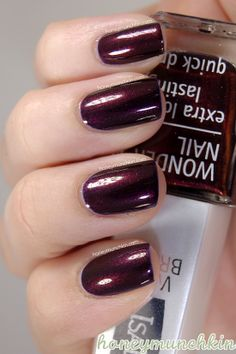 IsaDora – 744 Ancient Ruby #nailpolish