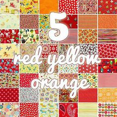 red/yellow/orange