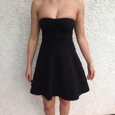 LaRock little black Dress! Gorgeous LaRok Little Black Dress! Strapless! Measures 23 inches in length and 24 inches in waist. LaRok Dresses Strapless