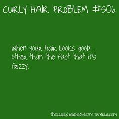 Curly Hair Problem #506