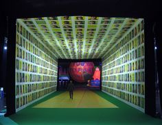 I totally dig this event entrance idea for a nonprofit event. Fabulous idea!!  :: Atomic Scenic