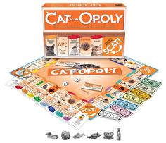 A game of Cat-Opoly. | 23 Insanely Clever Products Every Cat Owner Will Want