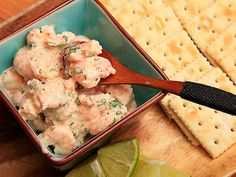 Love ceviche and shrimp!! Looks like a good on the patio summertime snack with…