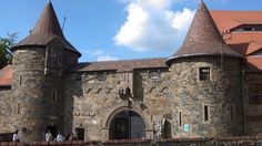 Brama wejściowa na teren kompleksu Zamku Czocha