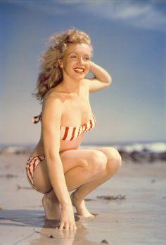 Marilyn Monroe ~*❥*~  1947-- wish she were here alive & well. We need real women wisdom