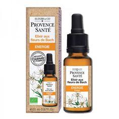 Elixir aux Fleurs de Bach Energie Provence Santé