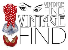 """""""Vintage Find"""" by juth ❤ liked on Polyvore"""