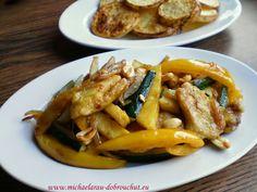 Dobrou chuť: Kuřecí kousky s ananasem