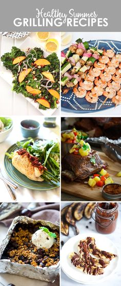 Need some grilling inspiration? Check out 6 healthy recipes that will have you set for the rest of summer!