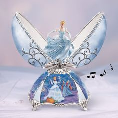Disney Music Boxes for Girls | Bradford Exchange Elegant Cinderella Egg Music Box | eBay