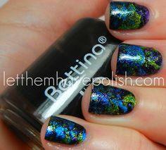 Disco Splatter Nail Polish