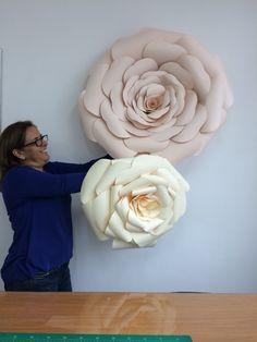 Image result for flores gigantes moldes