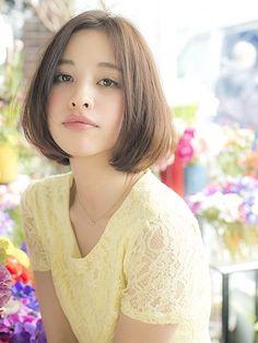 ふんわりかわいいフェミニンなボブヘアスタイル♡一度はやってみたい髪型・カット・アレンジ♬