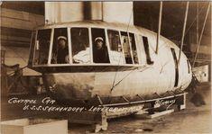 Control car of USS Shenandoah.