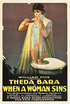"""Movie Poster of the Week: """"The She-Devil"""" and the Posters of Theda Bara on Notebook 