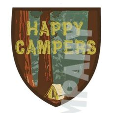 CAMPING Party: Party Hats Cupcake Wrappers by DunhamDesignCompany