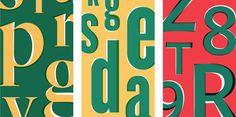 How to Use Clashing Fonts | News, Notes & Observations | Hoefler & Co.
