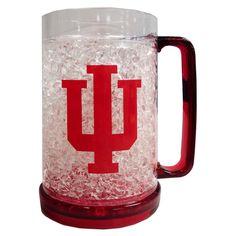Indiana Hoosiers Plastic Crystal Freezer Mug