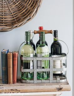 Wine rack of the Lil