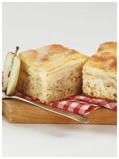Für Leckermäuler - Honig-Apfel-Schnitten | http://eatsmarter.de/rezepte/honig-apfel-schnitten