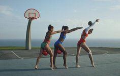 High-fashion endurance from America's Olympic gymnast hopefuls