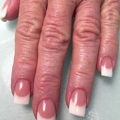 Repost Cbergmann68 Ttn Nailsquad Tammy Taylor Sculpted Pink White Nails