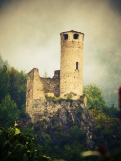 A Little older tower of Valle d'aosta Italy ( Very Cute ) Lol