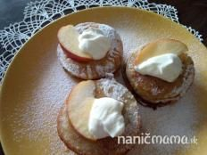 Jablkové lievance - recept Muffin, Pudding, Ale, Breakfast, Food, Morning Coffee, Eten, Puddings, Ales