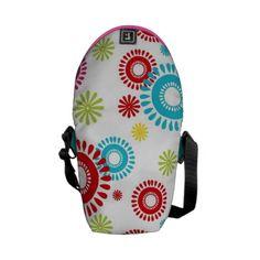 Colorful Stars Bold Bursts of Color Messenger Bag