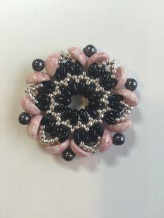 ciondolo con #superduo #piggybeads #perle