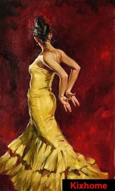 Compare Prices on Hot Dancer- Online Shopping/Buy Low Price Hot ... www.aliexpress.com360 × 600Buscar por imagen Flamenco Dancer in Yellow by Gloria E.Moses 100% hand painted portrait replica oil paintings on canvas, hot dancers oil artwork لوحات شرقية - Buscar con Google
