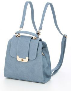 pretty pastel blue backpack / Ray Cassin レイカズン 2WAYリュック - shopstyle.co.jp