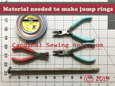 The best way to make jump rings